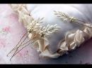 Видео МК по изготовлению шпилек с бусинами\ How to Make Hair Vine Pin Comb Bridal Headpiece EASY DIY