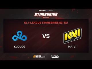 Cloud 9 vs Natus Vincere, Game 1, SL i-League StarSeries Season 3, EU