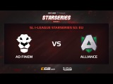AD Finem vs Alliance, Game 1, SL i-League StarSeries Season 3, EU