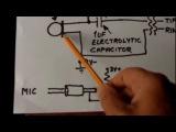 Electret Condenser Microphone Wiring