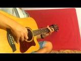 Очень красивая мелодия на гитаре  Joan Osborne - One of us  Разбор