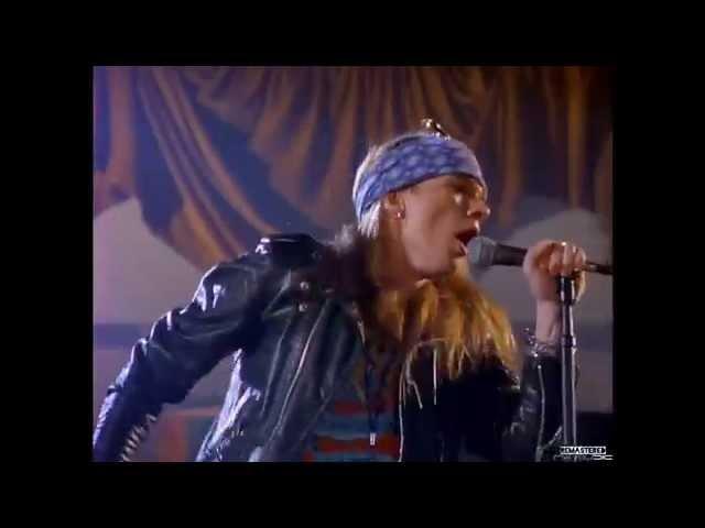 Guns N' Roses - Sweet Child O' Mine - Original Video - Min.05:12 - HD [ Remastered Version, 2015 ]