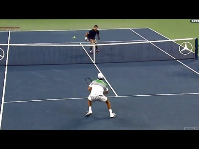 ATP Tennis Top 10 'Cat and Mouse' Points HD