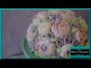 Оформление торта цветами из масляного крема. Украшение тортов в домашних услови