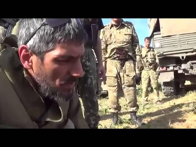 Разбитые каратели под Иловайском ДНР Кто не скачет-тот защитник,а кто скачет,тот...! 30 08 2014