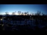 закат в таймлапс sunset timelapse