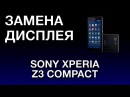 SONY Z3 COMPACT ЗАМЕНА ДИСПЛЕЯ