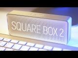 Xiaomi Mi Square Box Bluetooth Speaker 2 - Мал да удал, обзор беспроводной колонки из Китая!