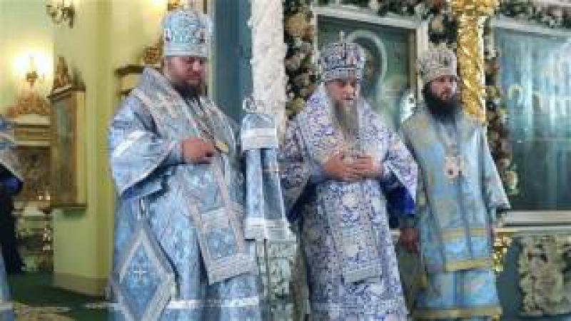 Празднование в честь Феодоровского образа Пресвятой Богородицы. Слово митропо ...