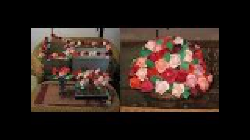 Kimie gangiの「川崎ローズ アレンジメント」Kawasaki rose Flower arrangement
