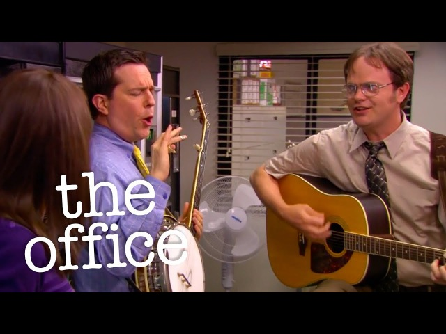 Andy and Dwight Sing To Erin - The Office US