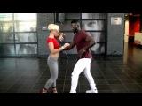 Curtis &amp Carola - urban kiz(omba) demo