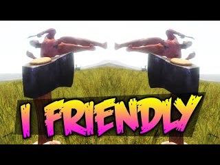 RUST | I FRIENDLY | БОМЖ ПРЕДАЛ ДРУГА! | ТРОЛЛИНГ В РАСТЕ ! 10