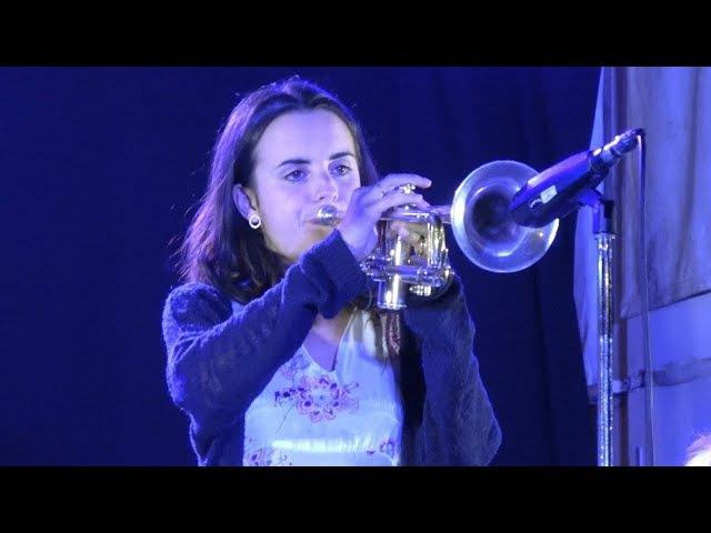 4K Andrea Motis アンドレア・モティス Live in Tokyo 「16th Tokyo Jazz Festival」2017 9 2 @代々木公園ケヤキ