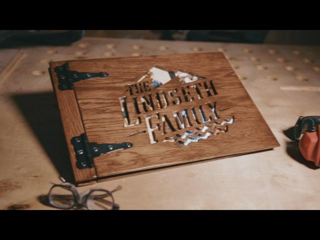 Making a Photo Album from Wood » Freewka.com - Смотреть онлайн в хорощем качестве