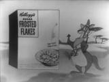 Глазированные хлопья, реклама 1950-х