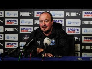 Benitez's pre-Huddersfield media briefing