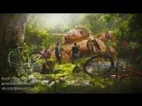 Создание сцены из фильма в Blender 3D