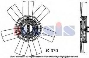 Вентилятор, охлаждение двигателя для AUDI V8 (44_, 4C_)