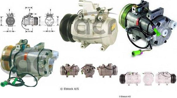 Компрессор, кондиционер для AUDI V8 (44_, 4C_)