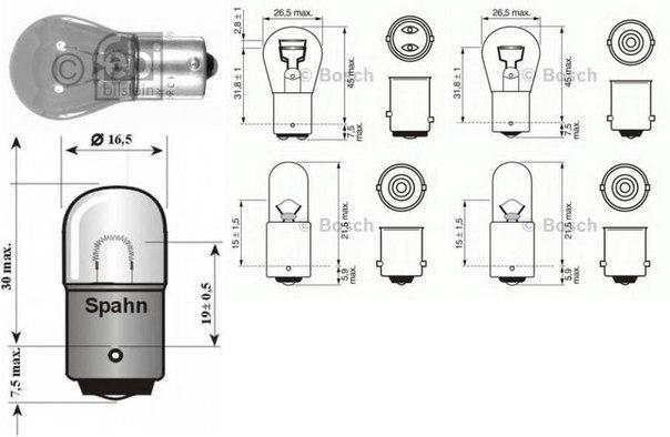 Фонарь указателя поворота для AUDI V8 (44_, 4C_)