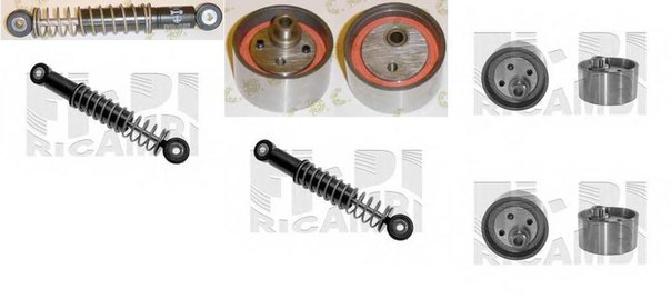 Устройство для натяжения ремня, ремень ГРМ для AUDI V8 (44_, 4C_)