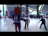 Собирание паззлов с игроками СКА в Хоккейном городе