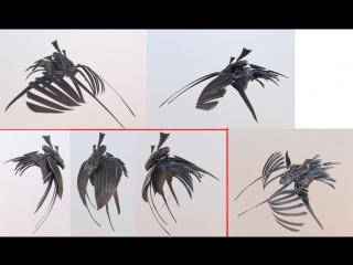 Red Eye - Концепт персонажа, 3d coat скульптинг часть 2