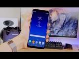 Samsung Galaxy S8+ Первая распаковка, эксклюзив