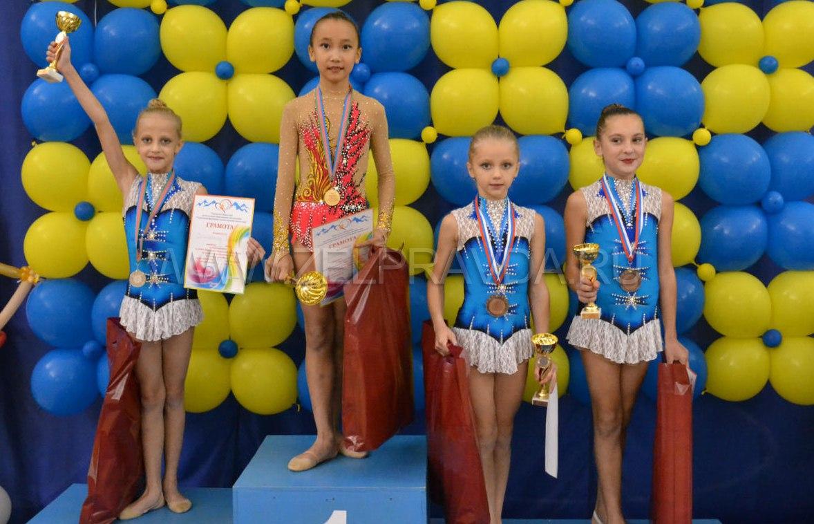 Зеленчукские гимнастки призеры Кубка республики