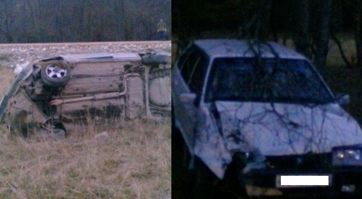 В Нижней Ермоловке столкнулись два автомобиля