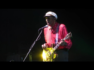 Chuck Berry - Johnny B. Goode (24.02.2013, Arena Moscow, Moscow, Russia)