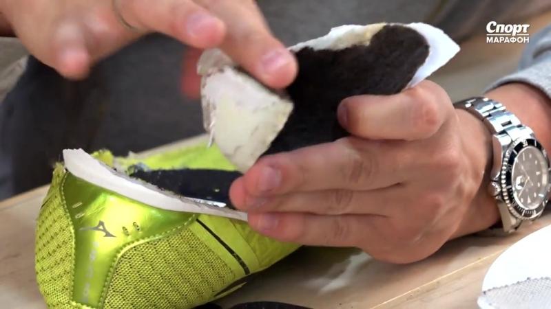 Препарирование кроссовок для бега. В поисках геля