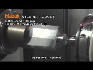 Процесс металлообработки на станке с ЧПУ