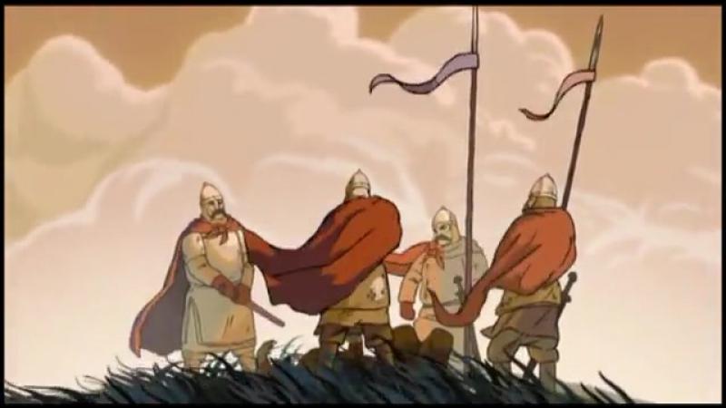 Братья (Св. Борис и Глеб) (православный мультфильм 2012 год)