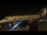 May 2: Fan taken video of Justin landing in Tel Aviv, Israel.