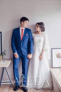 Наша 👰💍#невестаАледа #brideAleda Вуккерт Анна в платье  👗 Элоди😍 #gabbiano