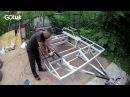 Антикоррозийная защита рамы прицепа (дома на колесах). Внедорожный караван Navahi с