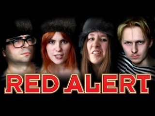 Alina Gingertail and Клюква Шоу - Soviet March (Red Alert 3 Theme)
