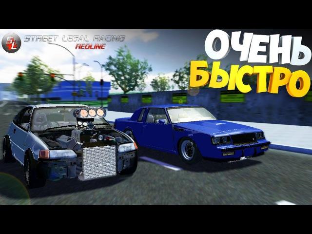 6 | Свап на V8 | SLRR | Honda CRX V8 Kompressor