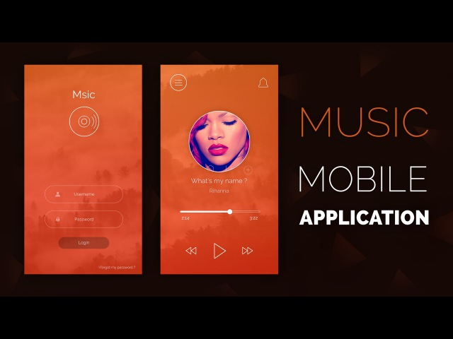 Speed Art Msic Mobile Application UI UX
