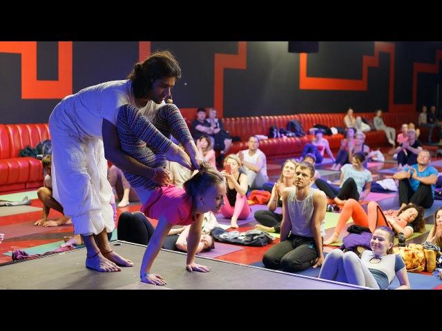 """Равиндер Джангра на """"Carpathian Yoga Fest-2016"""""""