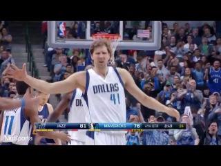 Dallas vs Utah Баскетбол. НБА. Даллас Маверикс - Юта Джаз 09.02.2017