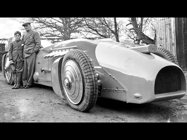 Campbell Railton Rolls Royce Blue Bird 1933