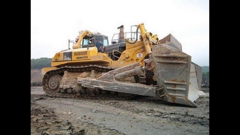 Самый большой бульдозер на планете МОНСТР / The biggest bulldozer on the planet