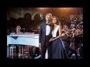 Zara and Andrea Bocelli Con te partirò @Celebrity Fight Night Rai 1