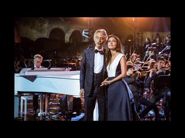 Zara and Andrea Bocelli - Con te partirò (@Celebrity Fight Night, Rai 1)