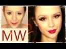 MW ♡ WAY БЕЗ БРОВЕЙ О_о Макияж Голодные Игры ♡ The HUNGER GAMES makeup tutorial ♥ Мария Вэй
