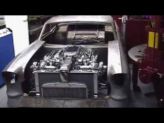 57 Chevrolet Riddler. 1850 HP TT 515 BBC. Nelson Racing Engines. Camaro, Corvette,Engines.