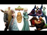 THE SIMS MEDIEVAL FROZEN ELSA PREGNANCY CHILDBIRTH AND DEATH